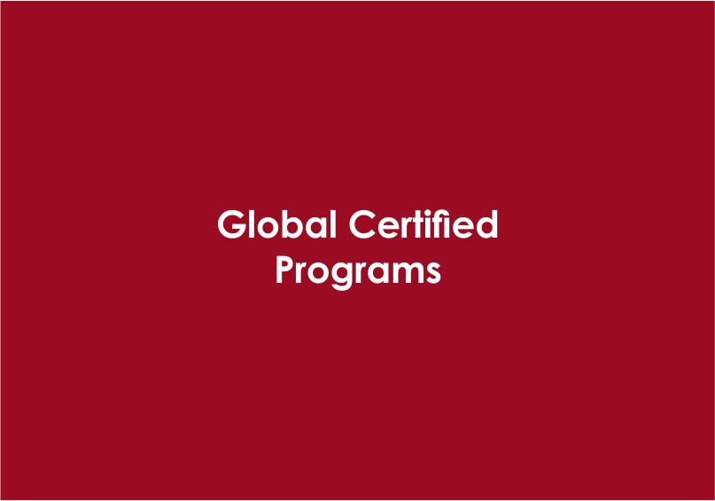 Global Certified Programs
